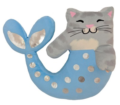 WALMART: Mermaid Kitty Decorative Pillow Set by Limited Too, 2 Pack