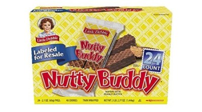 AMAZON: Buddy Chocolate Fudge & Peanut Butter Wafer Bars, 24 Count