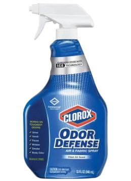 AMAZON: Clorox Odor Defense Air and Fabric Spray