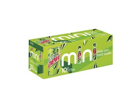 AMAZON: 10 Pack Mountain Dew Soda, 7.5 Ounce Mini Can for $3.99 Shipped!