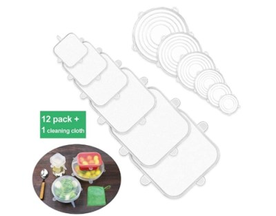 AMAZON: 12 Pack Silicone Stretch Lids for $6.97 Shipped! (Reg. Price $13.95)