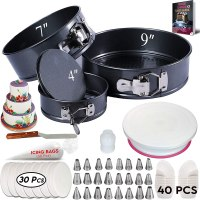 Amazon : 150Pcs Cake Decorating Supplies Kit with Baking supplies Just $19.90 (Reg : $25.90)