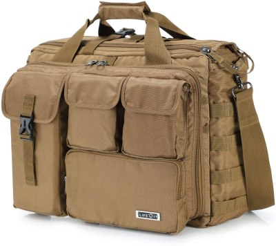 AMAZON: 17″ Men's Multifunction Tactical Messenger Bag for $22.50 Shipped! (Reg.Price $49.99)