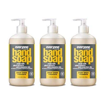 AMAZON: 3 Count Everyone Hand Soap: Meyer Lemon and Mandarin for $10.47 (Reg. Price $14.97)