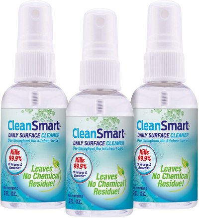 AMAZON: 3 Pack CleanSmart to Go Dis-in-fectant for $11.99