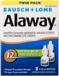 AMAZON: Twin Pack Of Bausch + Lomb Alaway Antihistamine Eye Drops ONLY $10.86 (REG. $17.86)