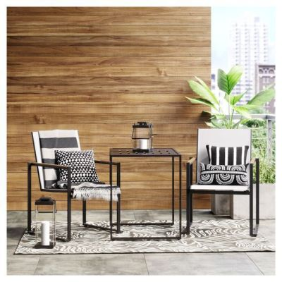 TARGET: Henning 3pc Patio Bistro Set Off-White For $285 (Reg.$300) + Free Shipping