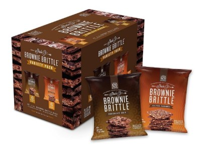 AMAZON: Brownie Brittle, Salted Caramel & Chocolate Chip Variety Pack, 1 Oz Bag (Pack Of 20)