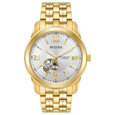 WALMART: Bulova Men's Gold-Tone Stainless Steel Automatic Watch $135.99 (Reg $530.00)