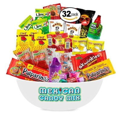 AMAZON: Mexican Candy Assortment Snacks (32 Count)