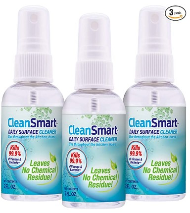 AMAZON: 3 Pack CleanSmart to Go Disinfectant for $11.99 Shipped!