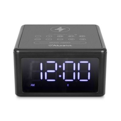 BEST BUY: Aluratek Wireless Charging FM Clock Radio For $34.99 (Reg.$59.99)+Free Shipping On Orders $35+