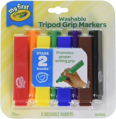 AMAZON: Crayola My First, Tripod Washable Markers for Toddlers for $5.45 (Reg.Price $7.79)