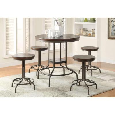 WALMART: Burney 5-Piece Counter-Height Dining Set For $199 (Was $400) + Free Shipping