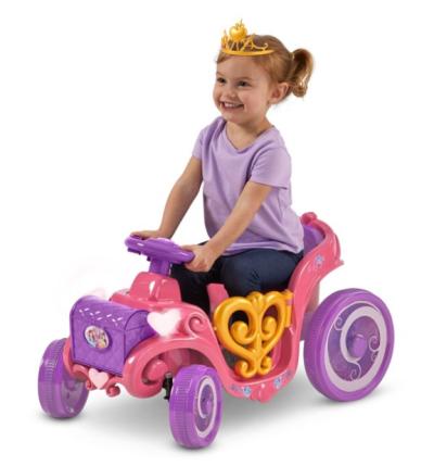 WALMART: Disney Princess Enchanted Adventure Carriage Quad, 6-V Ride-On for $44.00 + Free Shipping! (Reg. Price $59.87)