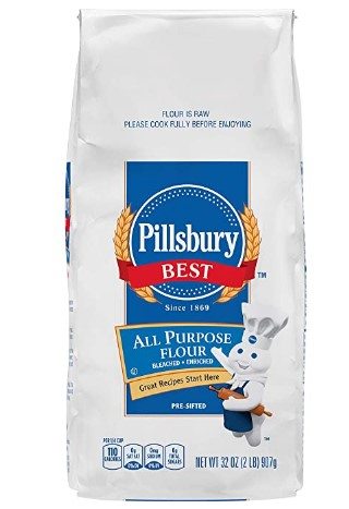 AMAZON: Pillsbury BEST All Purpose Flour, 32 Ounce (Pack of 12)
