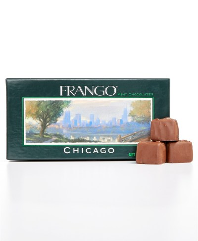 MACY'S: Frango Chocolates Chicago Collection 1/3 LB Mint Milk Chocolates $7.49