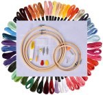 AMAZON: Full Set of Embroidery Starter Kit for $17.99 Shipped! (Reg.Price $29.99) WITH CODE 40K8RQFB