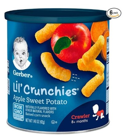AMAZON: Gerber Lil' Crunchies, Apple Sweet Potato, 1.48 Ounce (Pack of 6) – CLIP $1.80 COUPON!