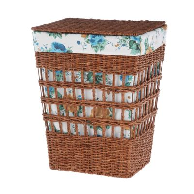 WALMART: The Pioneer Woman Rose Shadow Maize Laundry Hamper $21.86 (Reg $34.73)