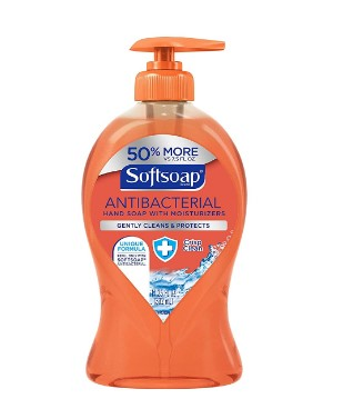 AMAZON: 11.25oz Softsoap Liquid Hand Soap Pump, Anti-bacterial Crisp Clean for $2.75 Shipped!