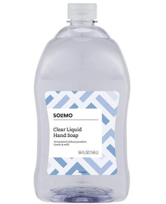 AMAZON: Amazon Brand Solimo Liquid Hand Soap Refill Now $5.95