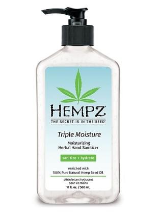 STAPLES: Hempz Hand Sanitizer, Herbal Triple Moisture 17 fl. oz $14.99