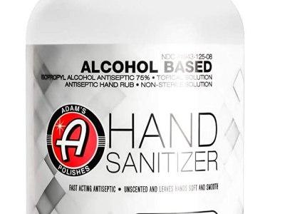 AMAZON: Hand Sanitizer 8oz - USA Made Hand Sanitizing Spray | 75% Isopropyl Alcohol by Volume