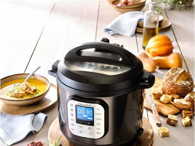 MACY'S: Instant Pot Duo™ Nova™ Black Stainless Steel 6-Qt. 7-in-1 One-Touch Multi-Cooker, $79.99 (Reg $124.99)