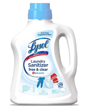 AMAZON: LySol Laundry Sanitizer Additive 90 fl.oz for $10.99 Shipped!