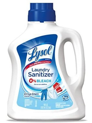 AMAZON: Lysol Laundry Additive, Crisp Linen, 90oz for $9.97 Shipped! (Reg. Price $10.99)