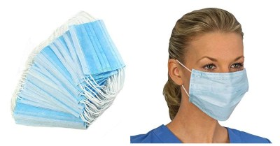 AMAZON: Disposable Face Masks (Pack of 15ct) for $7.3 ($24.4) Shipped