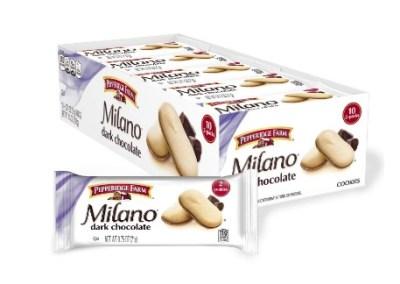 AMAZON: 10 Pack Pepperidge Farm Milano Dark Chocolate Cookies, 7.5 oz. for $4.89 Shipped!