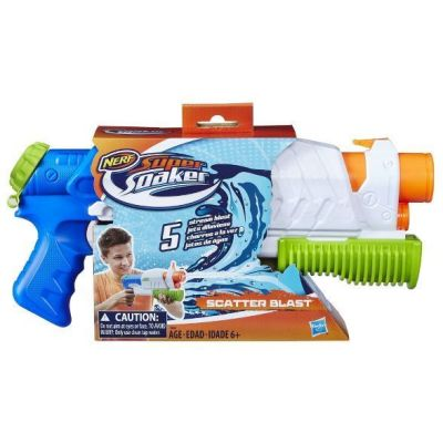 TARGET: NERF Super Soaker Scatter Blast Water Blaster For $9.99 + Free Shipping On Orders $35+