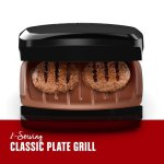 WALMART: George Foreman 2-Serving Copper Color Classic Plate Grill For $14.96 + Store Pickup