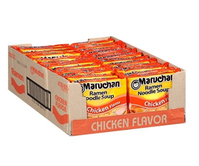 AMAZON: Pack of 24 Maruchan Ramen Chicken for $5.76
