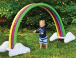 UNTIL GONE: Splash Buddies Kids' Rainbow Arch Outdoor Water Sprinkler $27.99 (Reg $99.99)