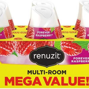 AMAZON: 6 Count Renuzit Adjustable Air Freshener Gel, Forever Raspberry as low as ONLY $3.87 Shipped