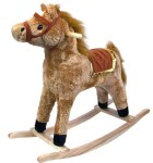 AMAZON: Happy Trails Horse Plush Rocking Horse - Wooden Rocker – PRICE DROP!