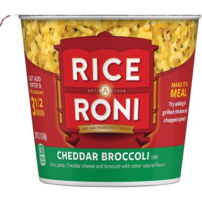 AMAZON: Rice a Roni Cups, Cheddar Broccoli, Individual Cup 2.11 Ounce (Pack of 12 )