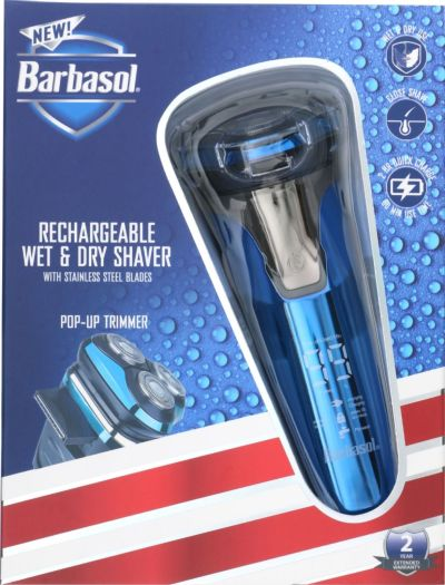 BEST BUY: Barbasol Rechargeable Wet/Dry Rotary Electric Shaver For $24.99 ($39.99) + Free Shipping On Orders $35+