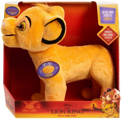 BEST BUY: Just Play Disney's The Lion King Roaring Simba Plush For $14.99 (Was $31.99)