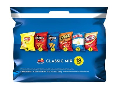 AMAZON: Frito-Lay Classic Mix Variety Pack, 18 Count