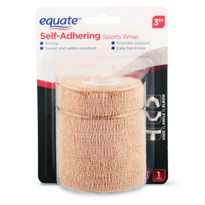 WALMART: Equate Self-Adhering Sports Wrap, 3″ X 2.2 Yds For $2.97
