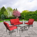 WALMART: Mainstays Stanton 4-Piece Patio Furniture Conversation Set $249.97