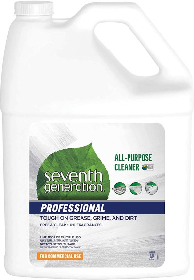AMAZON: Seventh Generation Professional All-Purpose Cleaner Refill Free & Clear Unscented 128 fl oz pack of 2