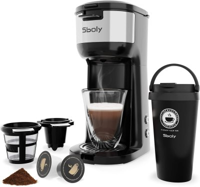 AMAZON: Single Serve Coffee Maker for K-Cup Pods And Ground Coffee for $36.51 Shipped! (Reg.Price $66.45)