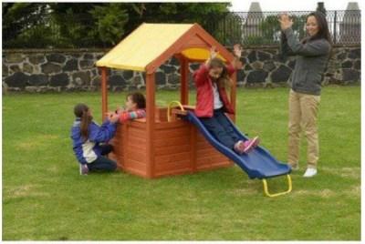 WALMART: Sportspower Encinitas Wood Playhouse with Slide, JUST $189.99
