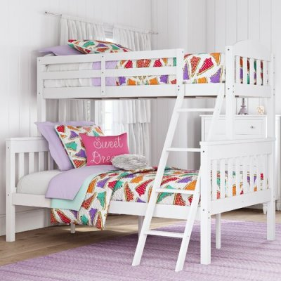 WAYFAIR: Suzanne Twin over Full Bunk Bed $349.99 (REG. $699.00)