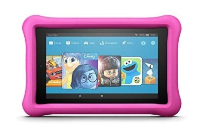 """WOOT: Fire 7 Kids Edition Tablet, 7"""" Display, 16 GB, Pink Kid-Proof Case - (Previous Generation - 7th) $39.99"""